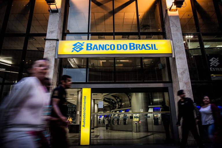 Fachada do Banco do Brasil, na Avenida Paulista, região central de São Paulo