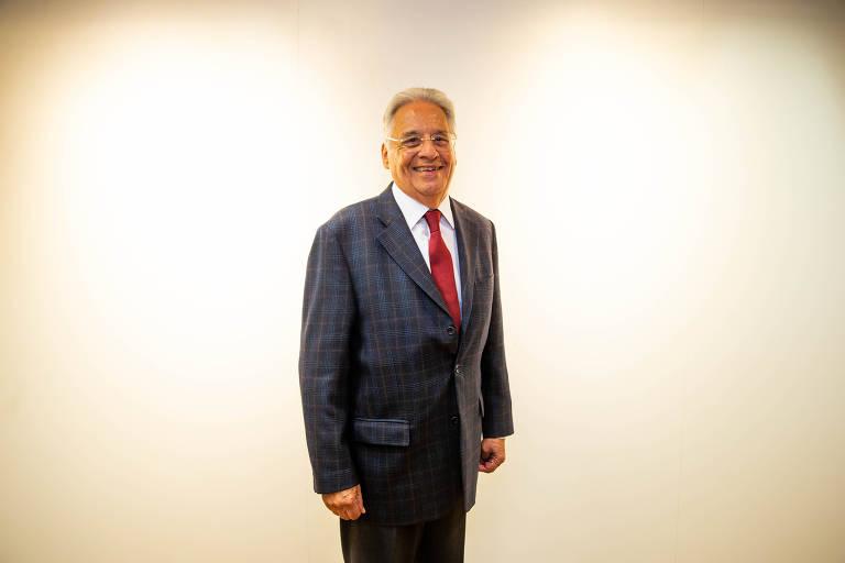 O ex-presidente do Brasil Fernando Henrique Cardoso