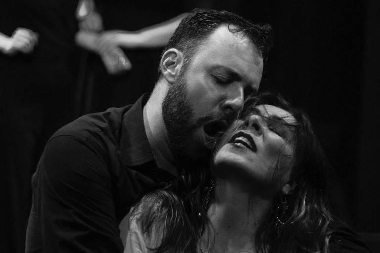 A ópera Carmen, de Bizet, é encenada no Teatro Bradesco