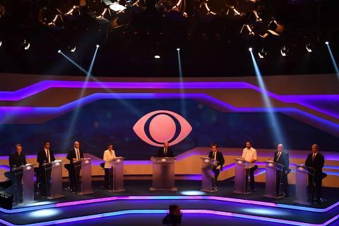 SPC de Ciro bate audiência de Ursal no debate da Band