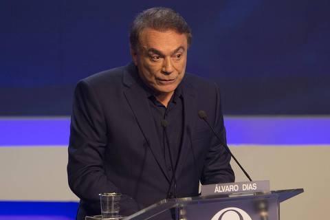 Alvaro Dias faz de Lava Jato e Moro peças de propaganda política