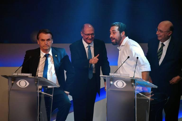 Candidatos a presidente fazem o primeiro debate