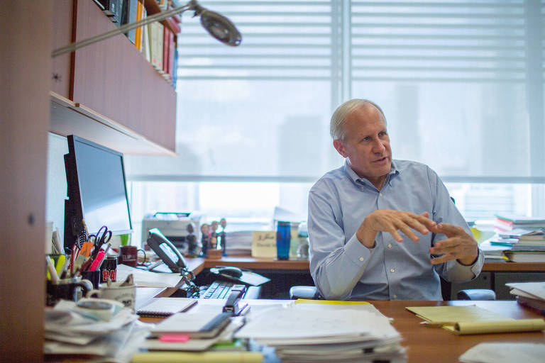 O advogado e vice-presidente do jornal The New York Times, David McCraw