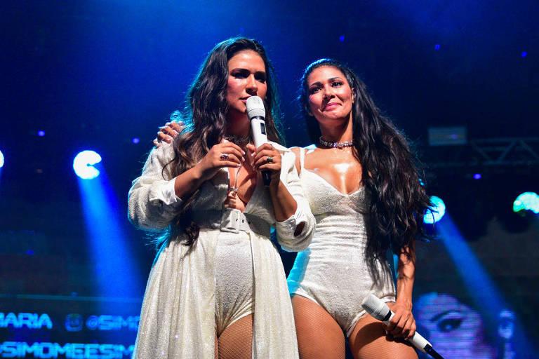 Show da dupla Simone & Simaria, no Espaço das Américas,SP
