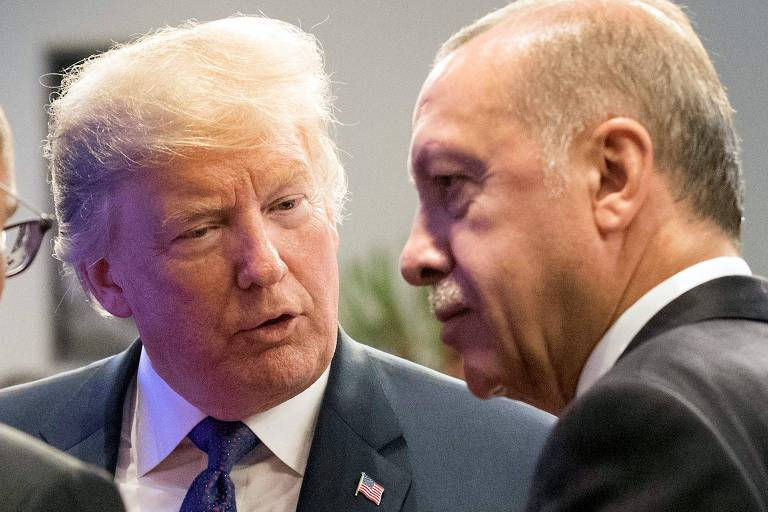 Donald Trump e  Recep Tayyip Erdogan