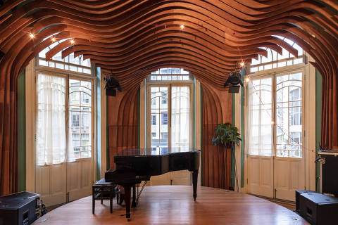 Ambiente da Casa de Francisca, reduto da cena musical alternativa contemporânea