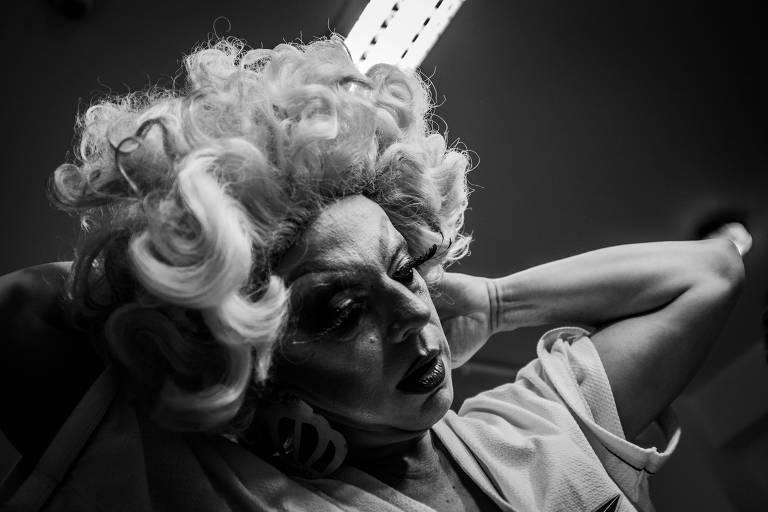Making Of do ensaio Madonna 60, no Theatro Municipal
