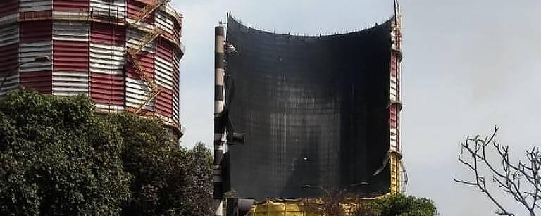 Explosão em unidade da Usiminas em Ipatinga, em Minas Gerais