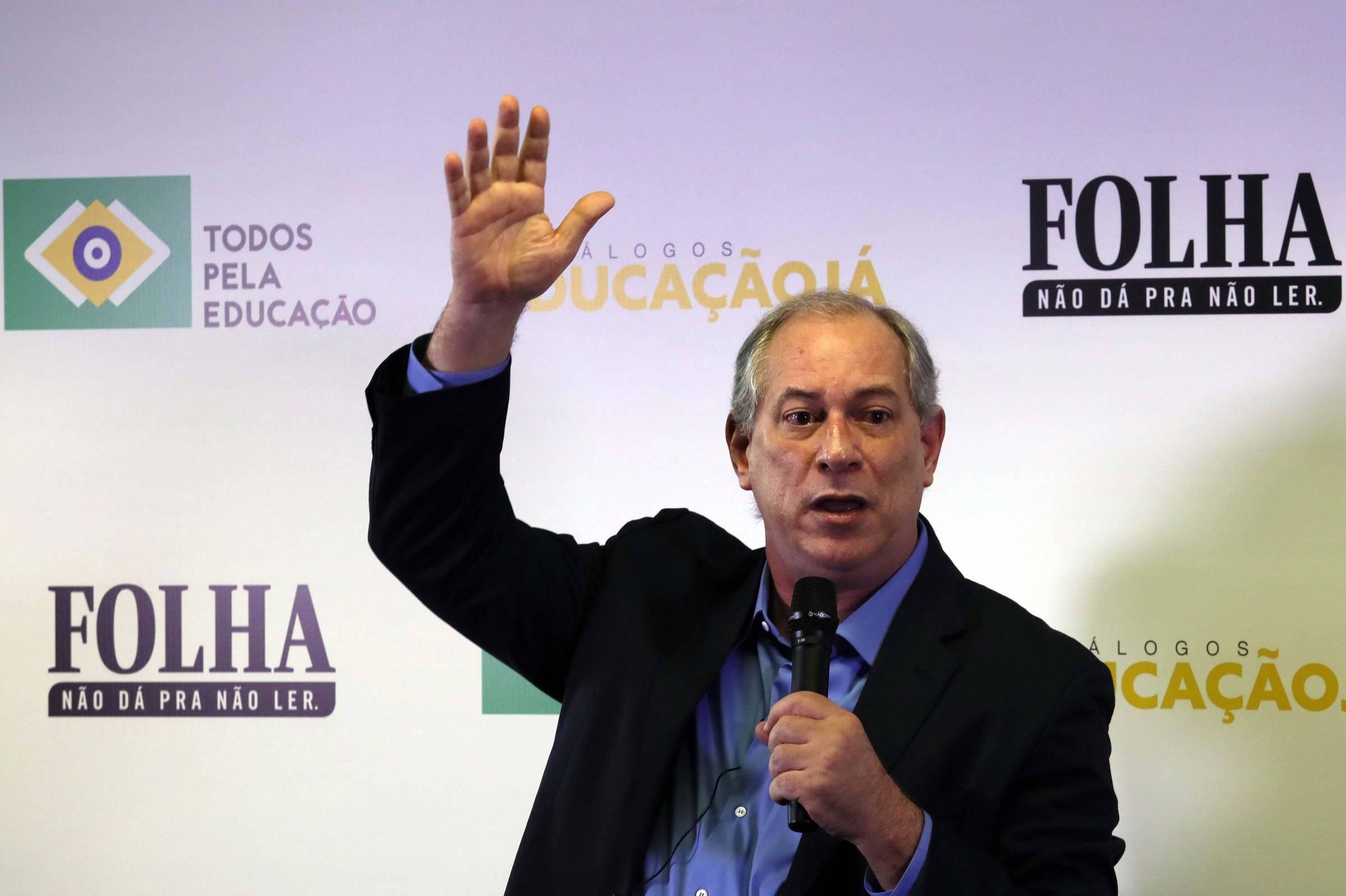 Resultado de imagem para Ciro diz que bancos podem refinanciar dívida para tirar nome do brasileiro do SPC