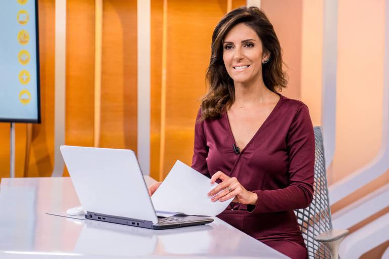 Monalisa Perrone, apresentadora da atração da Globo