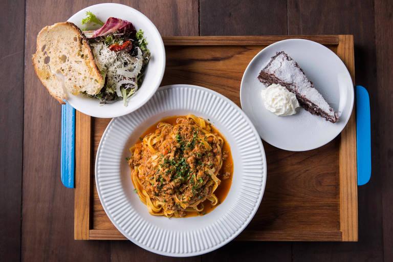Restaurantes com menu completo por menos de R$ 100