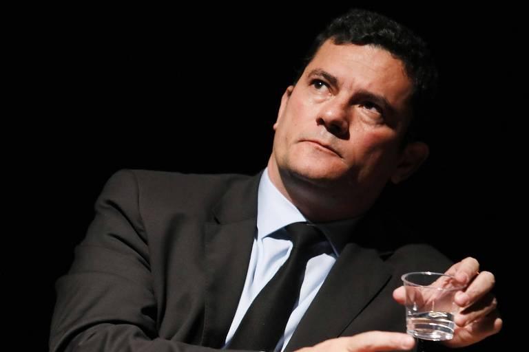 O juiz federal Sérgio Moro durante evento em São Paulo