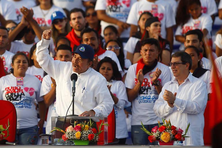 O governo da Nicarágua tornou-se uma ditadura? NÃO