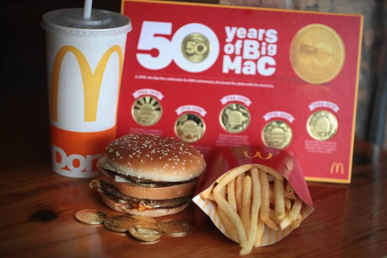 O Big Mac comemora 50 anos em 2018