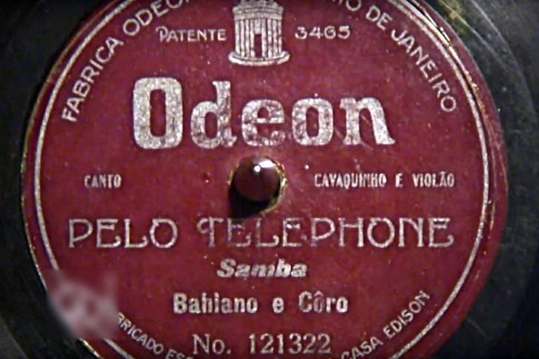 'Pelo Telefone', de Baiano