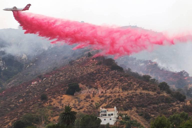 Incêndios na Califórnia