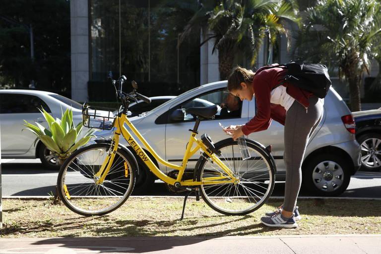 Sistema de bicicletas compartilhadas não tem estações fixas