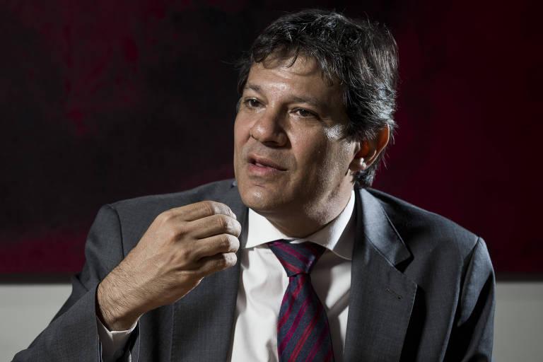 Este é Fernando Haddad (PT)