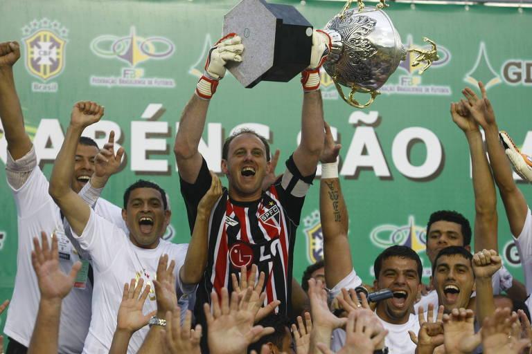 Os títulos brasileiros do São Paulo