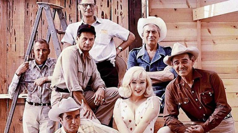 Marylin Monroe no filme 'Os Desajustados'