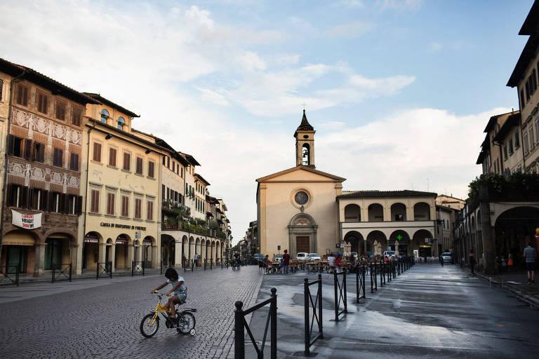 Figline Valdarno, a cidade-natal de Sarri que fica na região da Toscana
