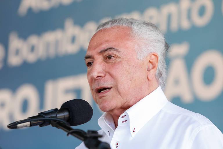 Palavras do Presidente da República, Michel Temer. em Salgueiro no Pernambuco