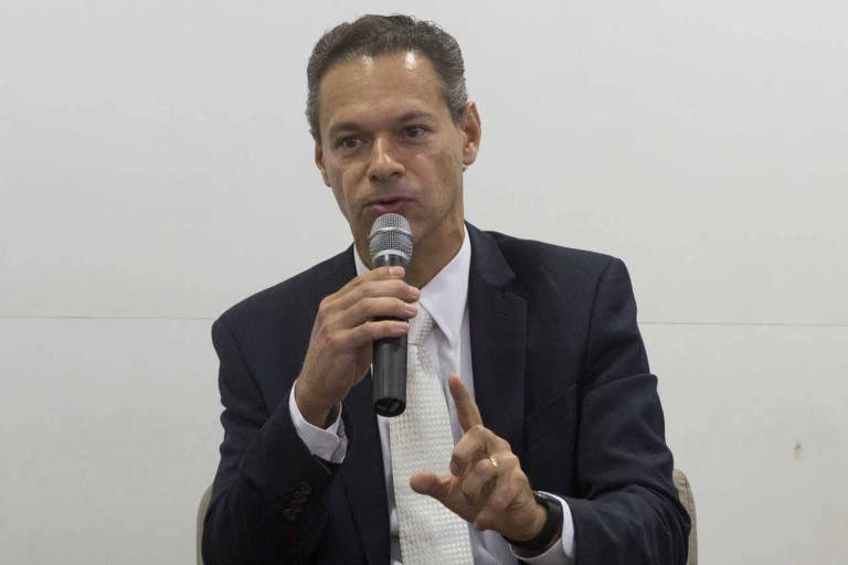 O advogado Renato Opice Blum, durante seminário promovido pela Folha em 2017