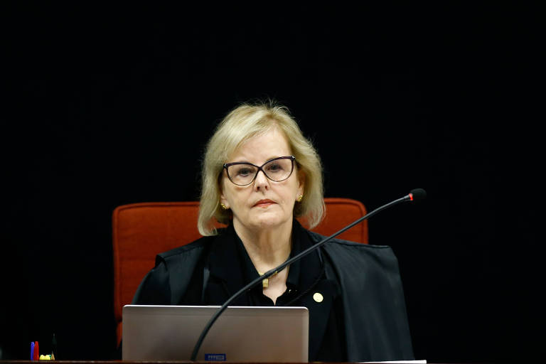 A ministra Rosa Weber, da Primeira Turma do Supremo Tribunal Federal