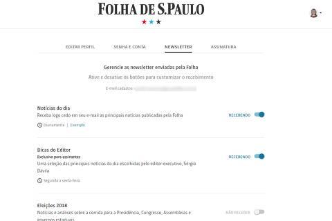 Folha lança newsletter sobre as eleições; confira como se inscrever