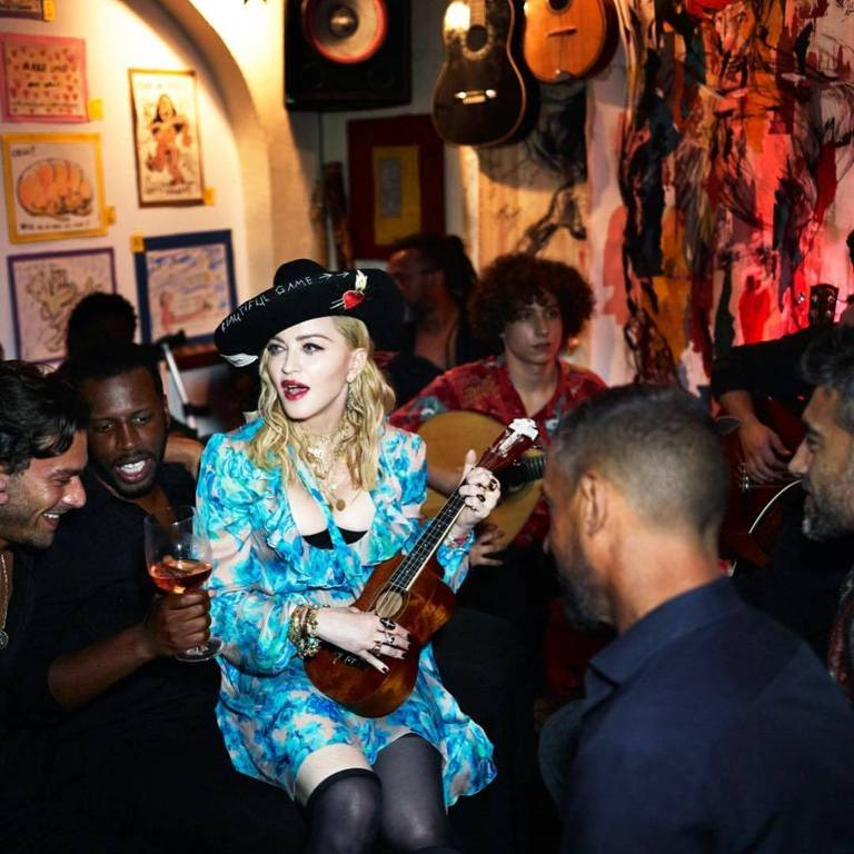 Vida de Madonna em Lisboa, Portugal