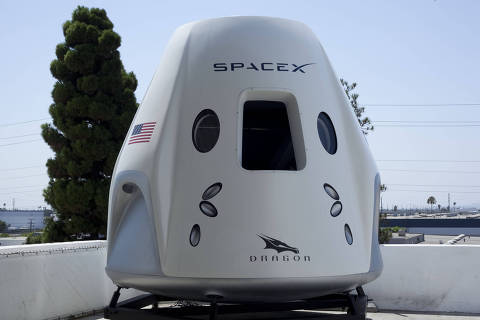 Fábrica da SpaceX Foto: Flavio Sampaio/Folhapress