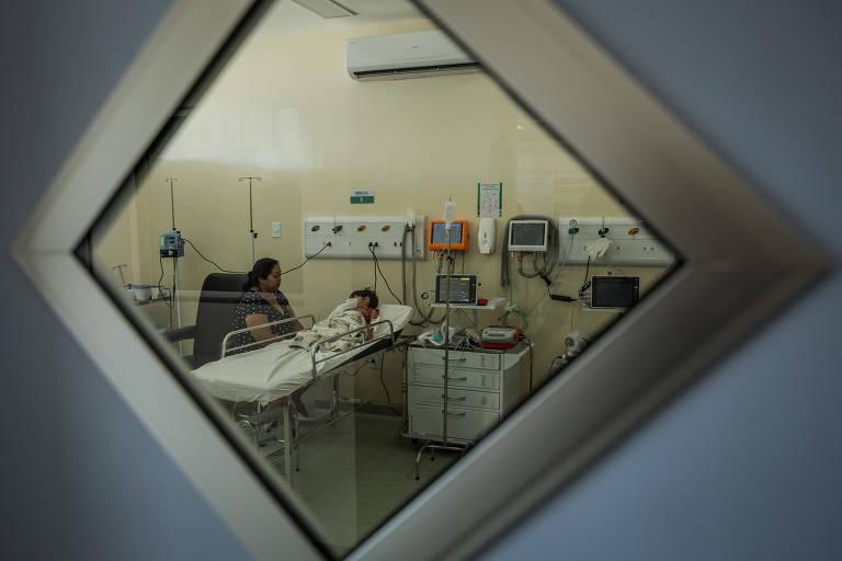 Atendimento em uma UPA (Unidade de Pronto-Atendimento), na periferia de Macapá