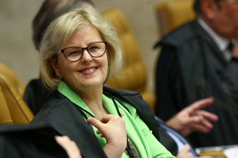 A ministra Rosa Weber, do STF, que assumiu o comando do TSE