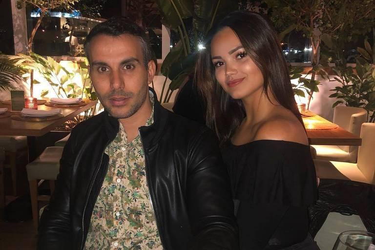 Suzanna, filha de Kelly Key com Latino, com o marido da cantora