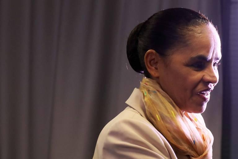 Marina Silva, candidata da Rede à Presidência, participa de debate na ONG Todos pela Educação