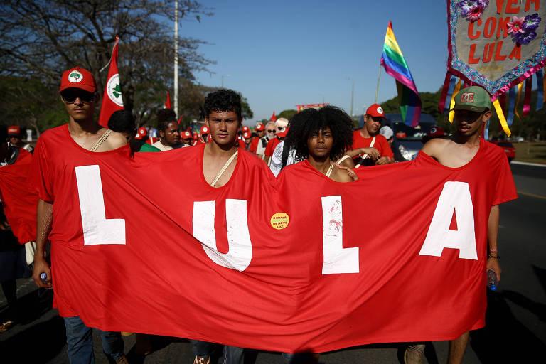 Marcha Lula Livre, em Brasília