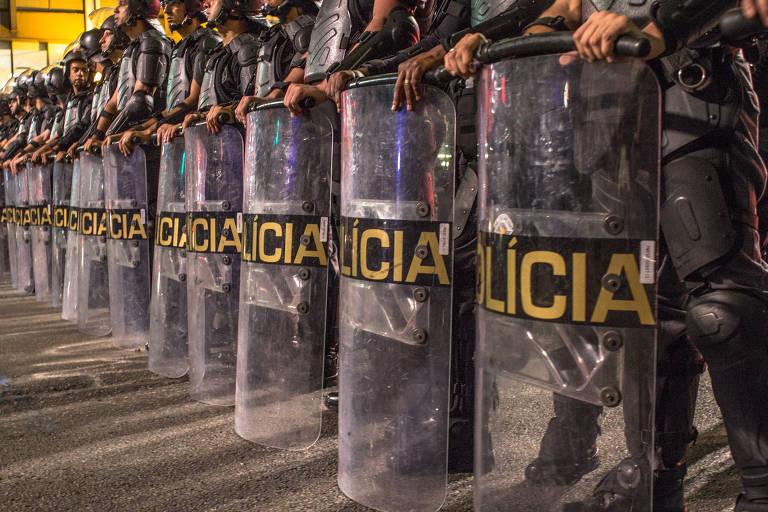 Grupamentos da PM paulista