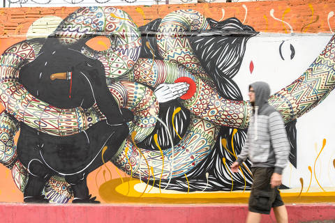 Grafiti_Curitiba DIREITOS RESERVADOS. NÃO PUBLICAR SEM AUTORIZAÇÃO DO DETENTOR DOS DIREITOS AUTORAIS E DE IMAGEM