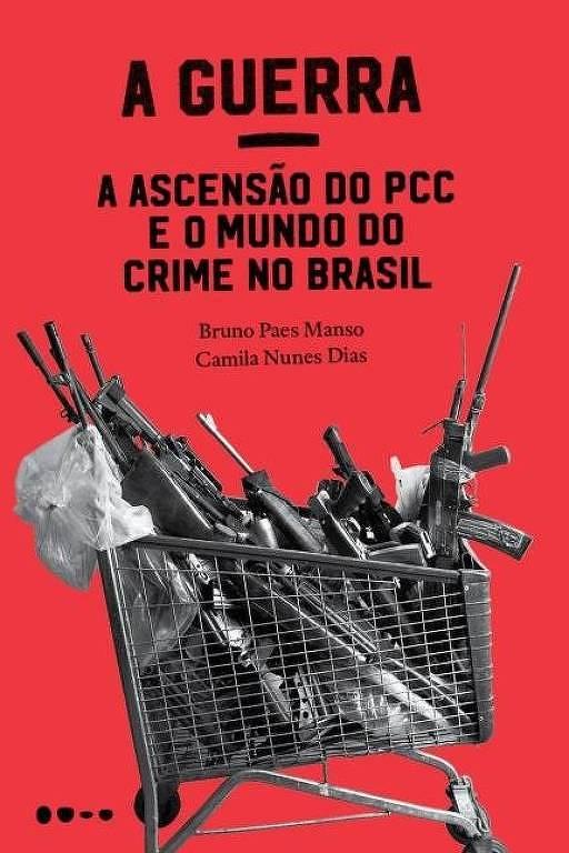 """Capa do livro """"Irmãos - Uma história do PCC"""""""