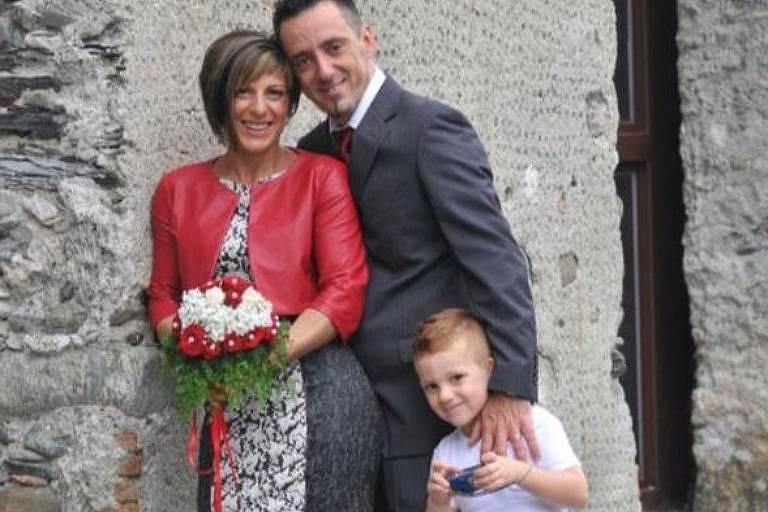 Samuele, oito anos, é uma das três crianças já confirmadas como vítimas mortais deste acidente. Seguia com os pais, Ersillia Piccinino (41 anos) e Roberto Robbiano (45), no automóvel quando a ponte desabou.
