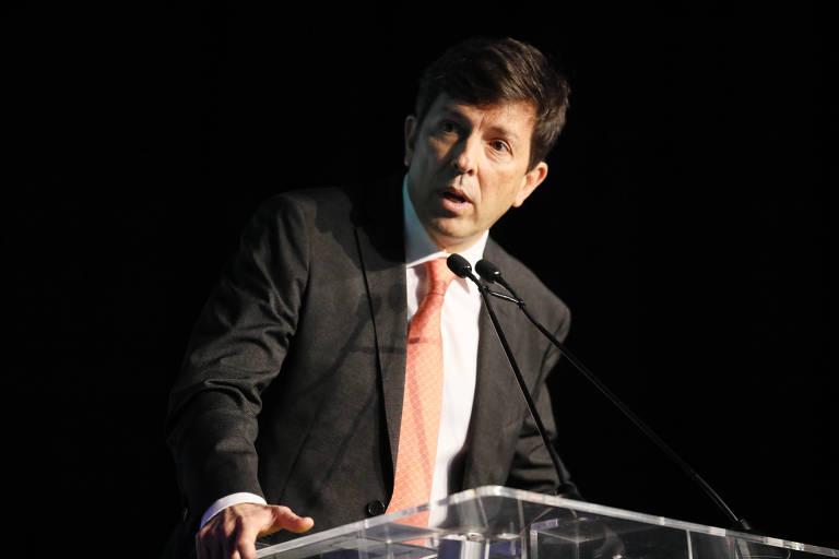 O presidenciável João Amoêdo, do partido Novo