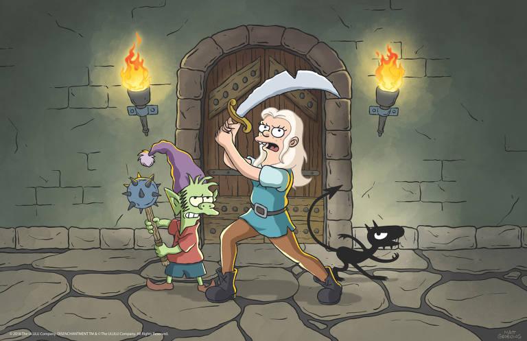 '(Des)Encanto': nova série do criador de 'Os Simpsons'