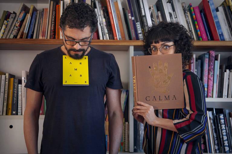 Luciana Molisani e José Fujocka abrem na sexta-feira (17) uma casa de livro na Galeria Ouro Fino