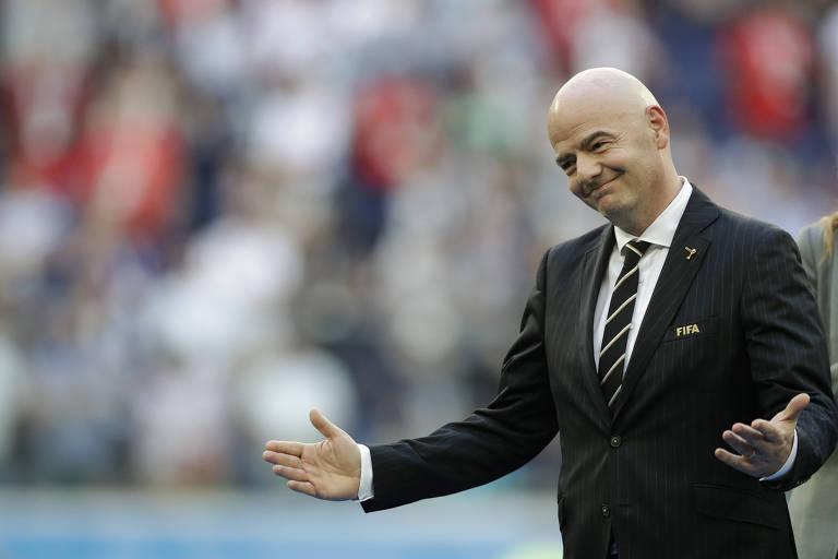 """A Fifa, presidida por Gianni Infantino, simplesmente retirou de seu novo código de ética todas as menções à palavra """"corrupção"""""""