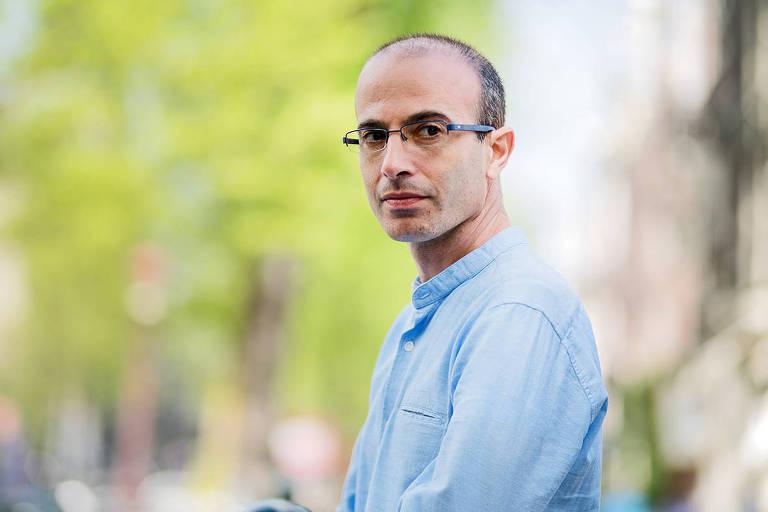 O historiador e escritor israelense Yuval Noah Harari