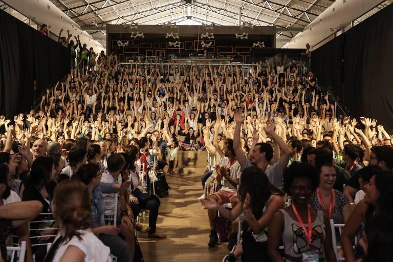 Participantes da edição do Festival Social Good Brasil 2017, em Florianópolis
