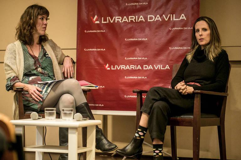 Tati Bernardi discute novo livro em evento promovido pela Folha
