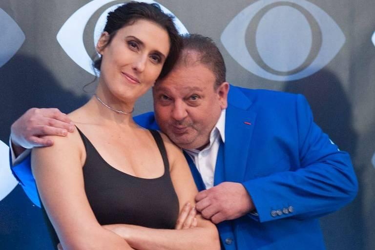 Os jurados Erick Jacquin e Paola Carosella, do MasterChef