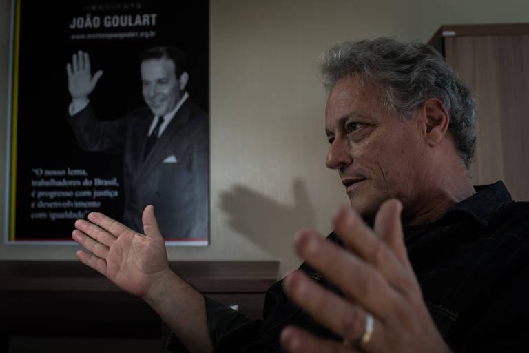 O presidenciável do PPL, João Vicente Goulart, que adotou como nome de urna João Goulart Filho