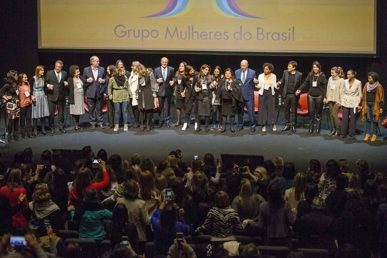 Grupo Mulheres do Brasil faz encontro com os presidenciáveis Álvaro Dias, Ciro Gomes, Geraldo Alckmin, Henrique Meirelles, João Amoêdo, Marina Silva e Vera Lúcia